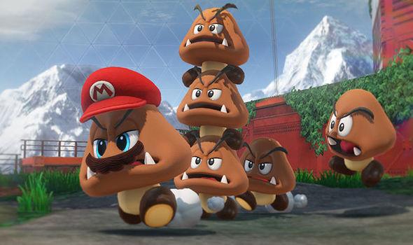 Mario Odyssey Looks Insane